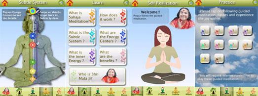 Svaret ligger i dine hænder – Sahaja Yoga Apps!