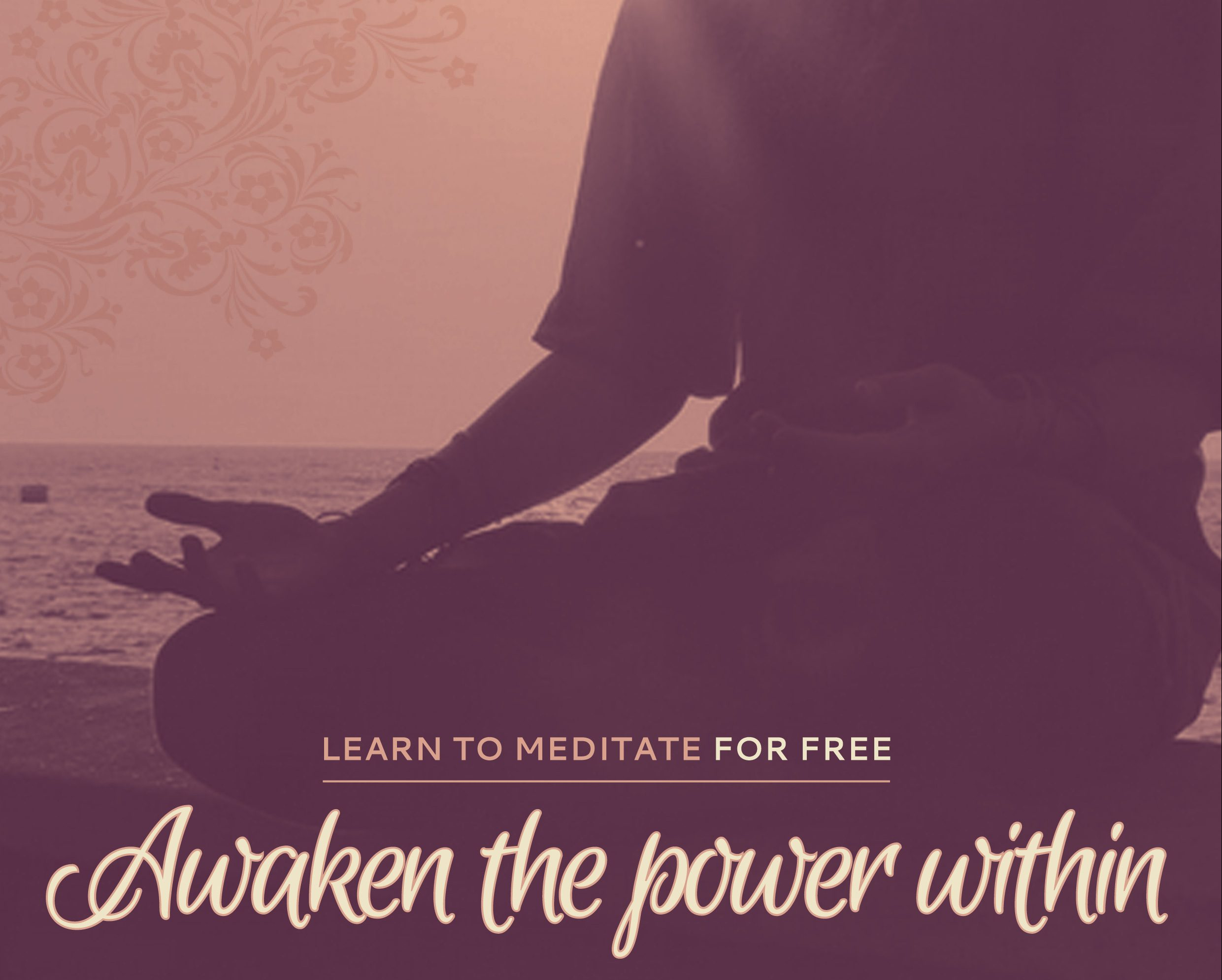 Learn to Meditate – FREE of charge