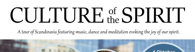 CULTURE of the SPIRIT – Indoor concert!
